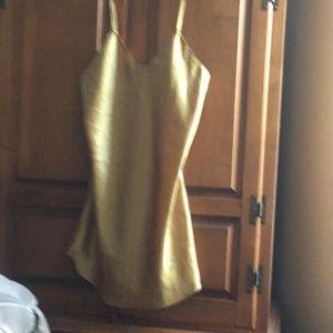 Golden chemise